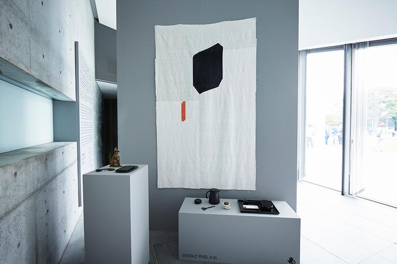 Google Hardware Comma Exhibition Designart Tokyo Ivy Ross Process Li Edelkoort Trend Forecasting 21_21 Design Sight Pixel 4 Nest Technology INAMATT Linen Textile Backdrop
