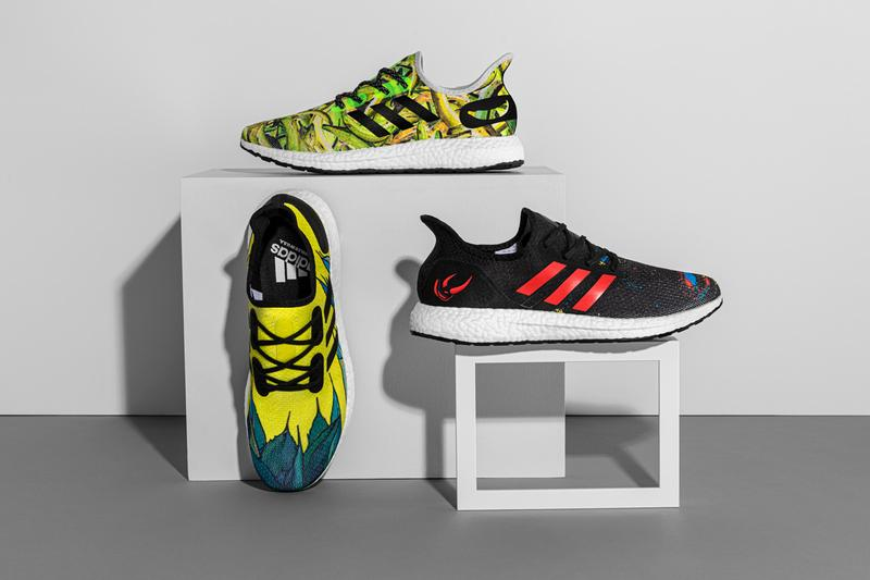 greenhouse adidas speedfactory am4 boost yellow green black red banana print release date hispanic heritage month