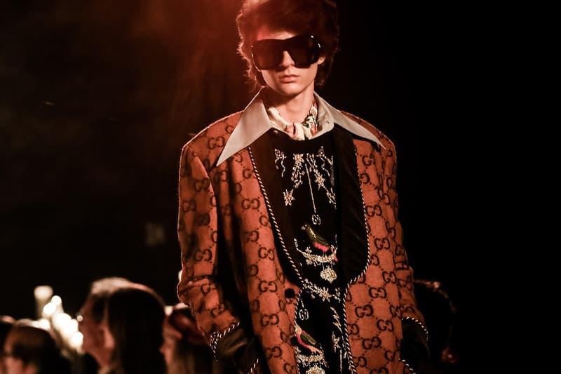 Gucci Returning Milan Fashion Week Mens Alessandro Michele Co-Ed Shows January 14 2020 Italian House Camera della Moda president Carlo Capasa Marco Bizzarri