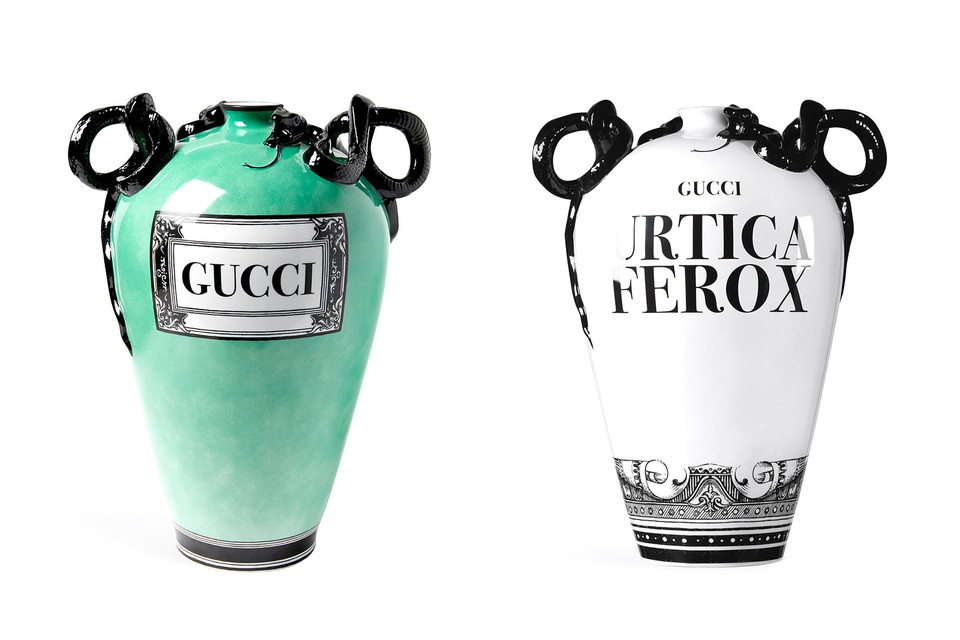 Decorate Your Home With These Extravagant Gucci Vases