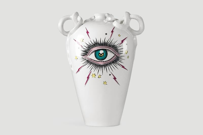 Gucci Décor Richard Ginori Porcelain Vase Release  hone style luxury ceramics Gucci Cruise