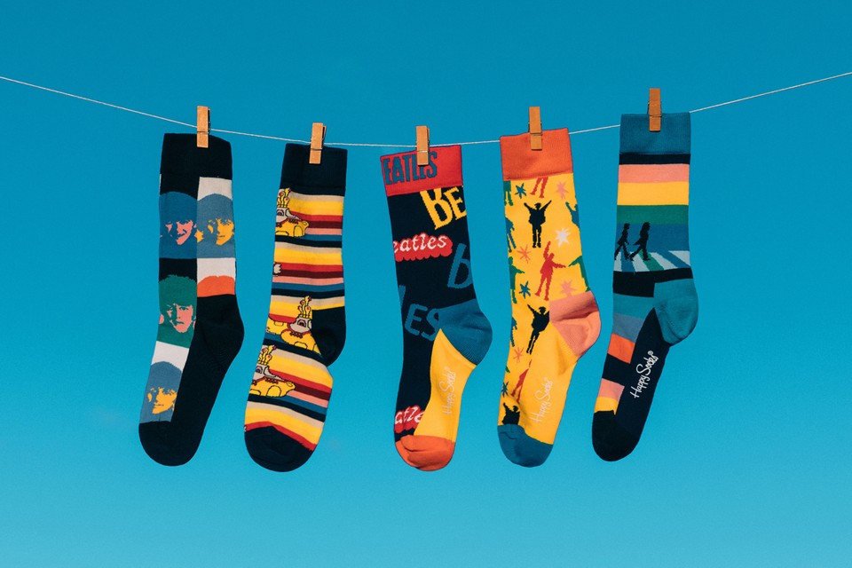 Happy Socks' Beatles Collaboration Is a Stand Out for FW19 Collection