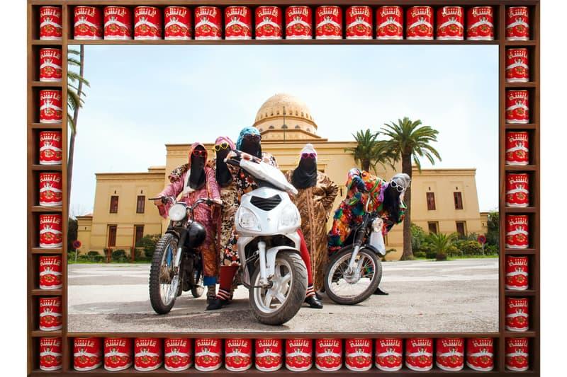"""Hassan Hajjaj """"Vogue: The Arab Issue"""" Exhibition Maison Européenne de la Photographie Portraits Series Photography"""