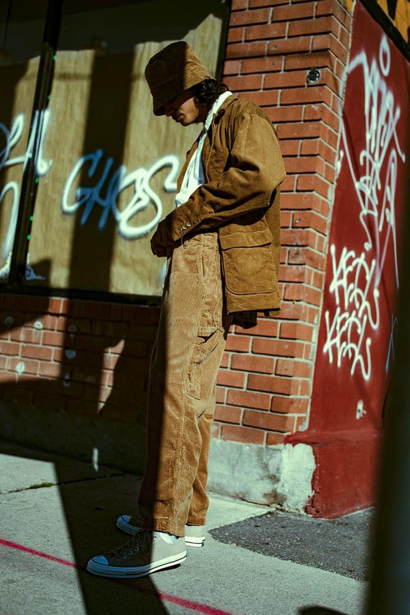 HAVEN Fall Winter 2019 Editorial Engineered Garments Junya Watanabe MAN visvim Ten C corduroy patchwork nepenthes lookbook layers