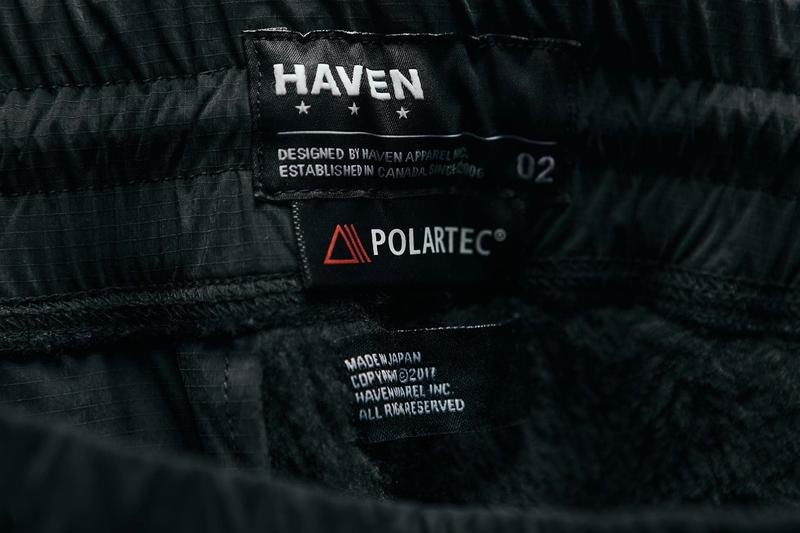 HAVEN Polartec Fall Winter 2019 Capsule high loft technical utility utilitarian high tech insulated lookbook fleece japanese nylon canada