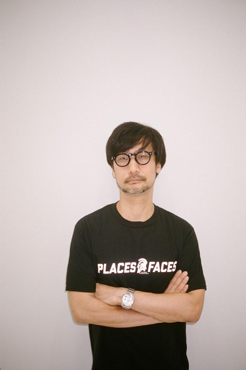 Hideo Kojima Productions x Places+Faces Collaboration collection teaser drop release date death stranding