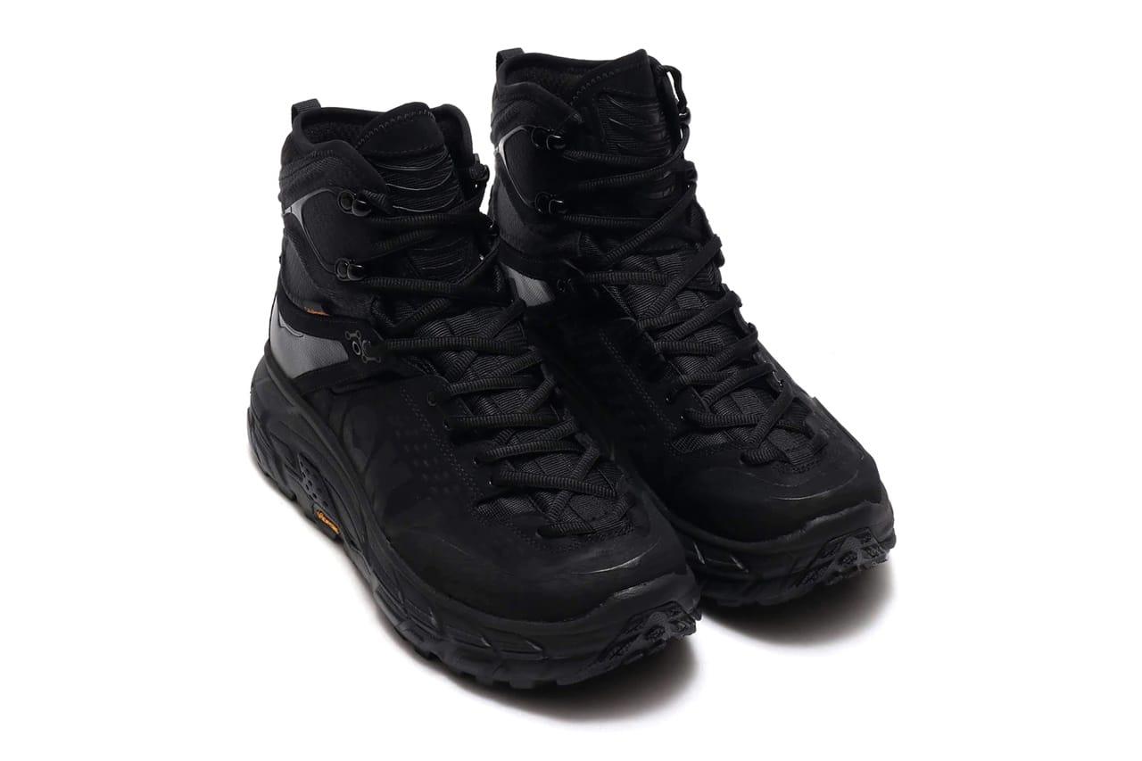 hoka one one tor ultra hi wp black