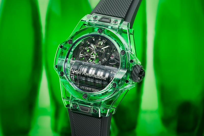 Hublot Big Bang MP-11 SAXEM Emerald Green Release Info Date Black ref. 911.JG.0129.RX