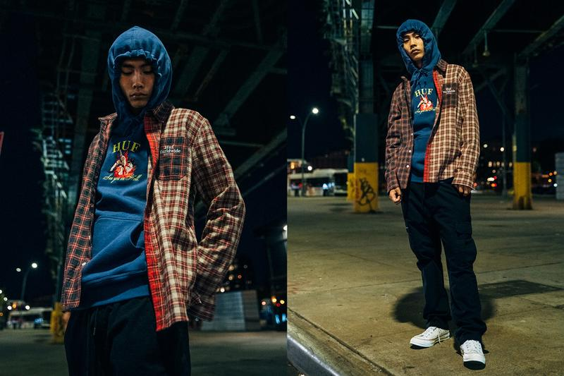 huf holiday 2019 collection lookbook images brooklyn new york