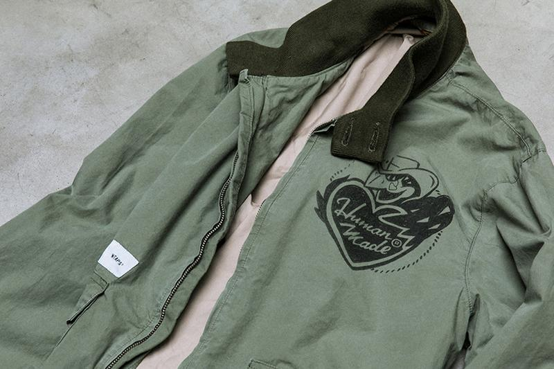 HUMAN MADE WTAPS 2019 Capsule collection collaboration tetsu nishiyama nigo gears for futuristic teenagers military utility vintage retro slub