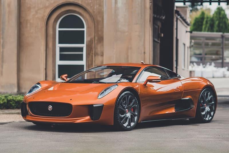 Jaguar C-X75 'Spectre' James Bond Auction RM Sotheby's Super Rare Supercar Hypercar Automotive One-of-Five Prototype Stunt Double Model  Mr. Hinx Dave Bautista