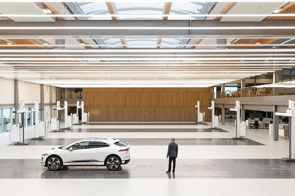 A Look Inside Jaguar's New 39,000 Square Foot Design Studio