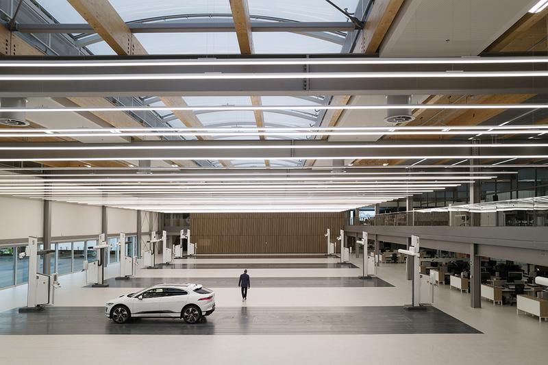 Look Inside Jaguar New 39,000 Square Foot Design Studio Clay Modeling Sustainable Solar Panels Build Plates Automotive