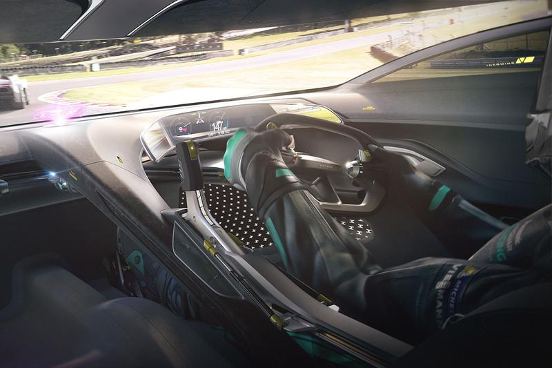 Jaguar Vision Gran Turismo Coupé for 'Gran Turismo Sport' Electric Vehicle EV Hypercar Virtual C-Type D-Type Race Cars 1006 BHP 885 lb-ft Torque First Look Automotive Design