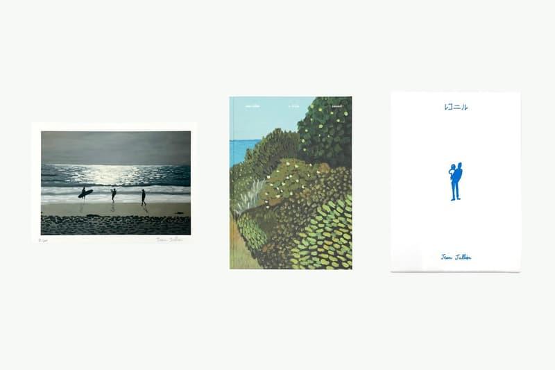 jean jullien lesconil exhibition nanzuka undergound tokyo japan paintings apparel collaborations editions