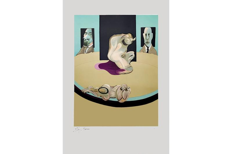 """Jess Cochrane Francis Bacon """"Study of a Woman Talking to Herself"""" Exhibition Info Rhodes Rhodes Contemporary Art Gallery"""