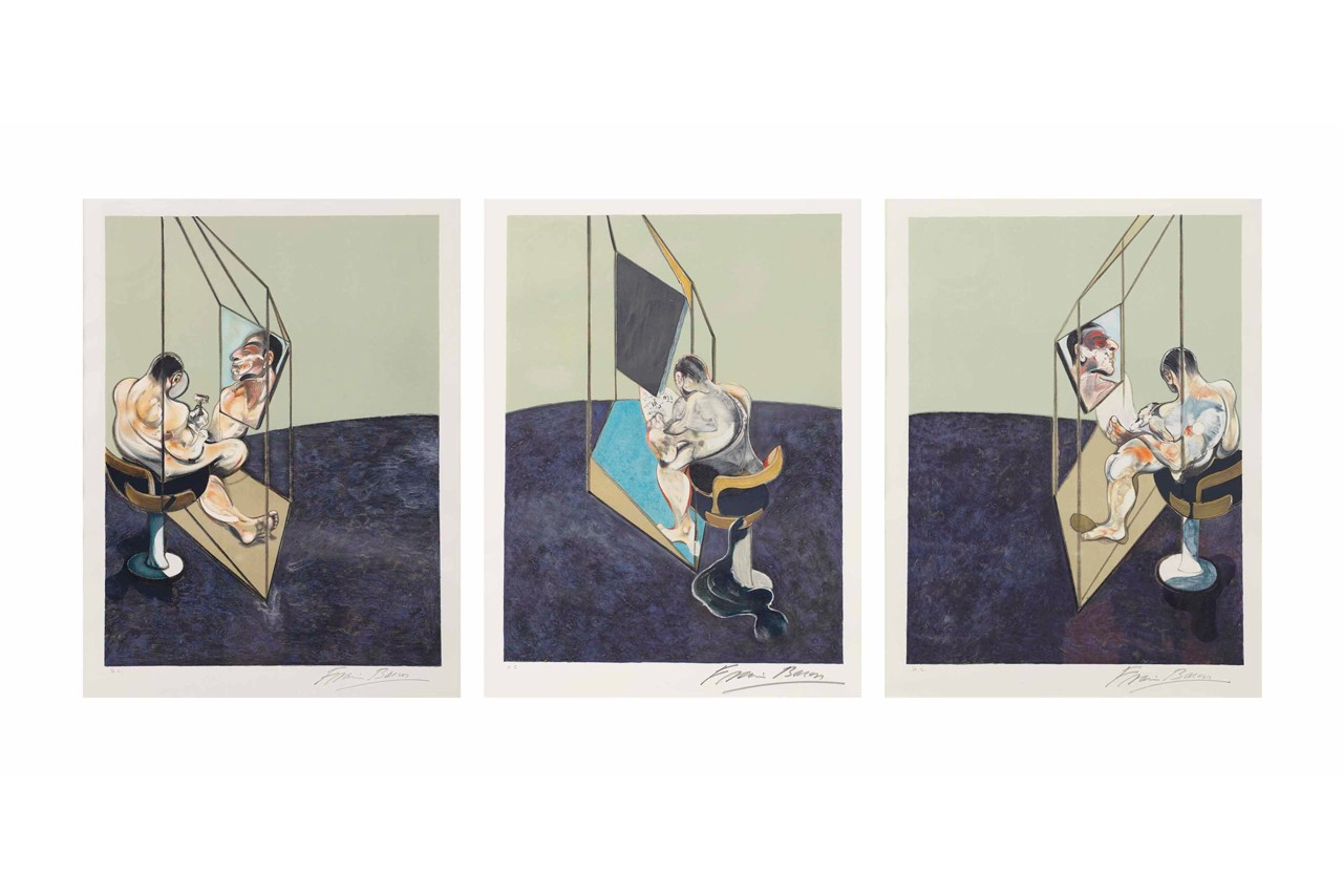 "Jess Cochrane Francis Bacon ""Study of a Woman Talking to Herself"" Exhibition Info Rhodes Rhodes Contemporary Art Gallery"