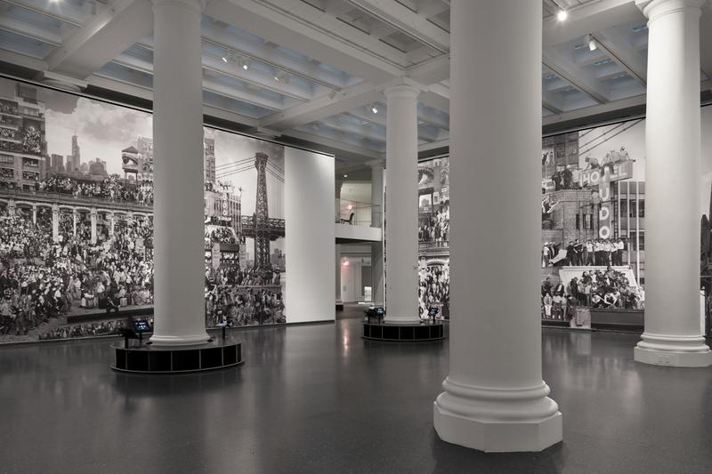 jr chronicles brooklyn museum exhibition artworks photography