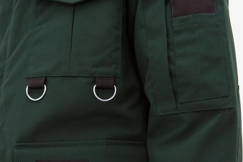 Junya Watanabe Canada Goose Four Pocket Coat technical progressive fabrics hand warmers snow gaiters jackets outerwear arctic waterproof polar