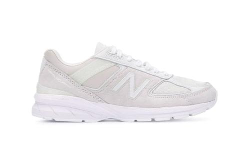 Junya Watanabe MAN & New Balance Drop All-White Calf Leather 990v5