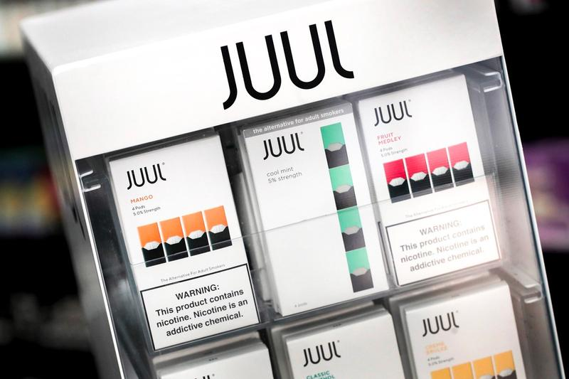 Lawsuit Against Juul Reports Contaminated Pods Sold Consumers e-cigarette vaping mint flavor