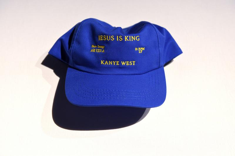 Kanye West Releases Official 'Jesus Is King' Merchandise album clothes mock neck t-shirts longsleeves crewnecks hooded sweatshirts vinyl record LP buy now release info drop date price popup pop up shop