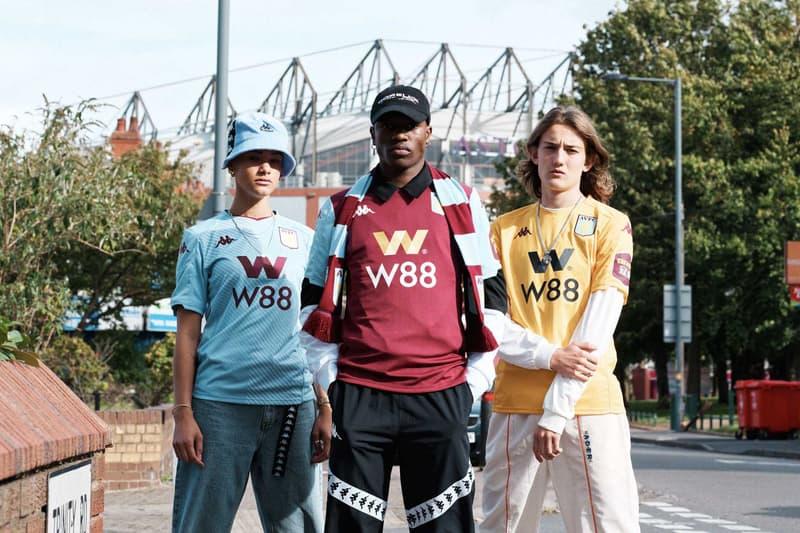 Kappa's 2019/20 Aston Villa Kit Lookbook football soccer jerseys england uk premier league pitch to the streets