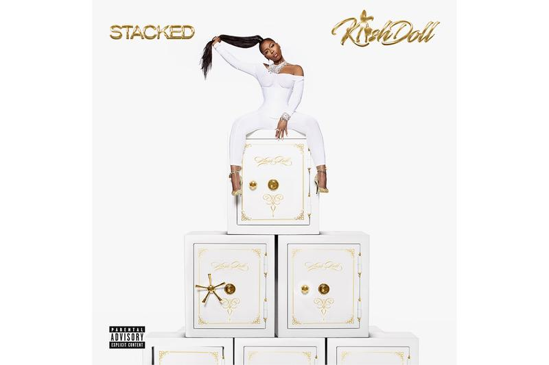 Kash Doll 'Stacked' Debut Album Stream hip-hop rap listen now spotify apple music kd diary music video lil wayne trey songz summer walker teyana taylor big sean