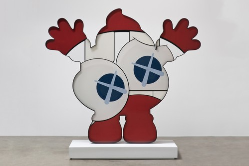 """KAWS' """"HE EATS ALONE"""" Marks First Exhibition in Middle East"""