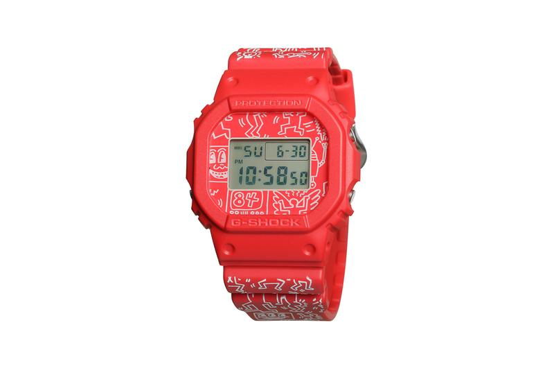 keith haring foundation casio g shock watch watches collection release date information november 2019