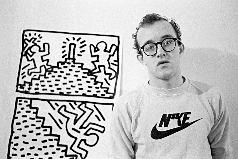 Keith Haring's 85-Foot Mural Cut Out of New York City Wall and Brought to Auction