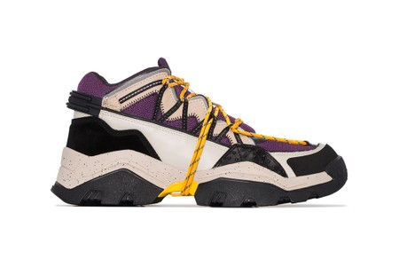 KENZO Spruces Up Inka Sneaker With Lakers-Inspired Colorway