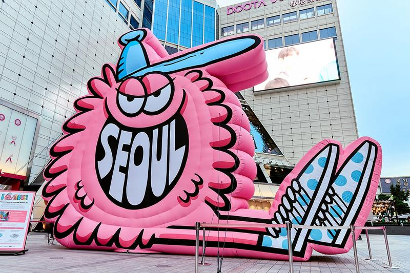 kevin lyons doota mall seoul south korea artworks installations exhibitions collaborations merchandise apparel