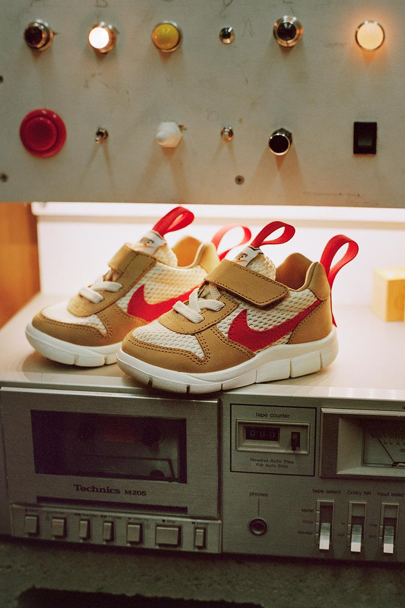 Tom Sachs Nike Mars Yard 2.0 Overshoe Drop Kids Sizing Crib Toddler Space Art Design Velcro Performance
