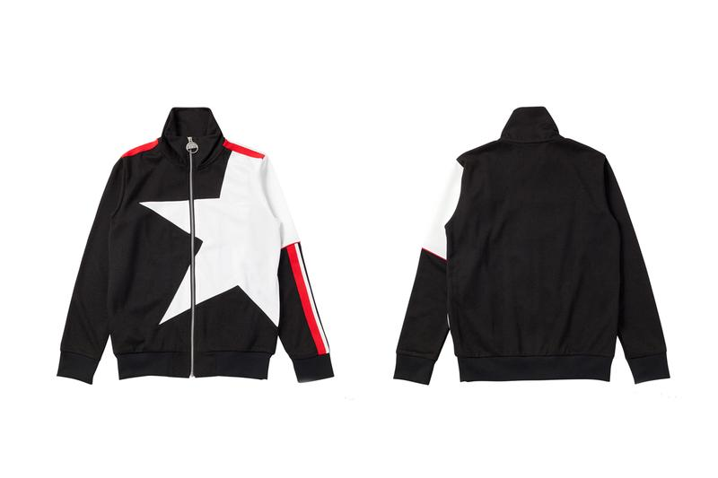 kye onitsuka tiger fw19 collection red whie black gsm game set match track suit pants