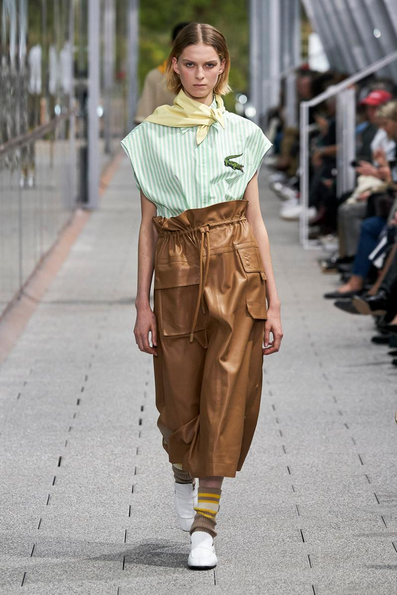 lacoste spring summer 2020 ready to wear collection mens womens rtw paris fashion week runway show