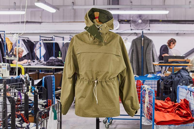 Liam Gallagher x Nigel Cabourn Parka Collection jackets oasis jackets anorak military rock music British Military Vintage Ventile