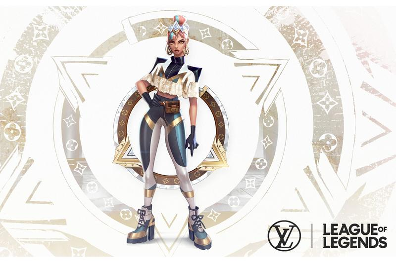 League of Legends 2019 Worlds Opening Ceremony With True Damage hip hop virtual riot games gaming skins Louis Vuitton Nicolas Ghesquiere Becky G Keke Palmer SOYEON (G)I-DLE DUCKWRTH Thutmose