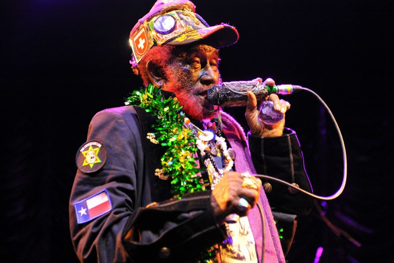 """Lee """"Scratch"""" Perry, Brian Eno & Adrian Sherwood Unite for """"Here Come the Warm Dreads"""""""