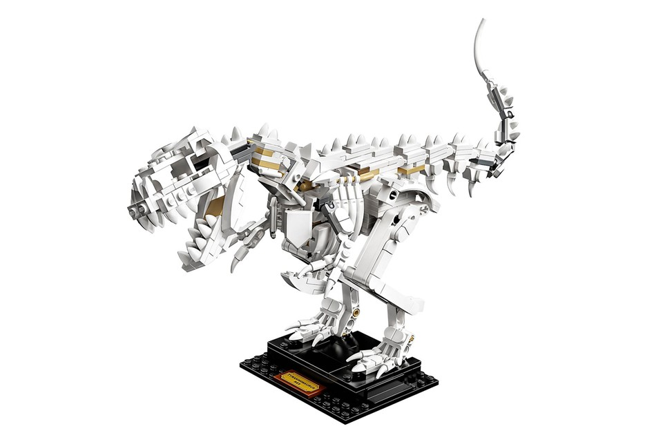 LEGO Visits Jurassic Age With Latest Dinosaur Fossil Set