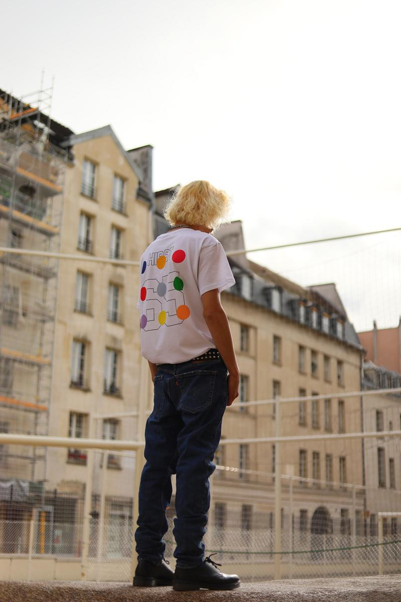 Damien Hirst LES (ART)ISTS SS20 Capsule Collection T-shirts Skulls Jerseys Spots Spin Paintings Red Orange Blue Green Yellow Purple Pink Black White