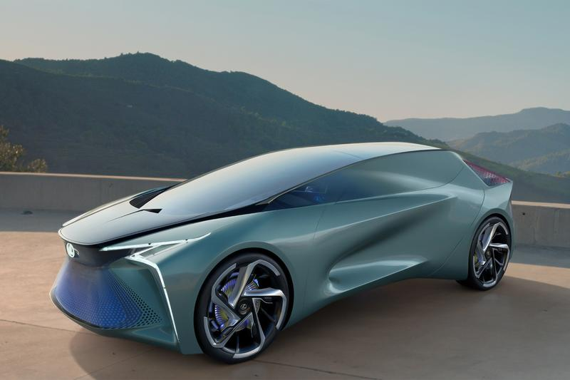 Lexus Unveils Brand First Concept EV LF 30 toyota hybrid production models electric cars vehicles