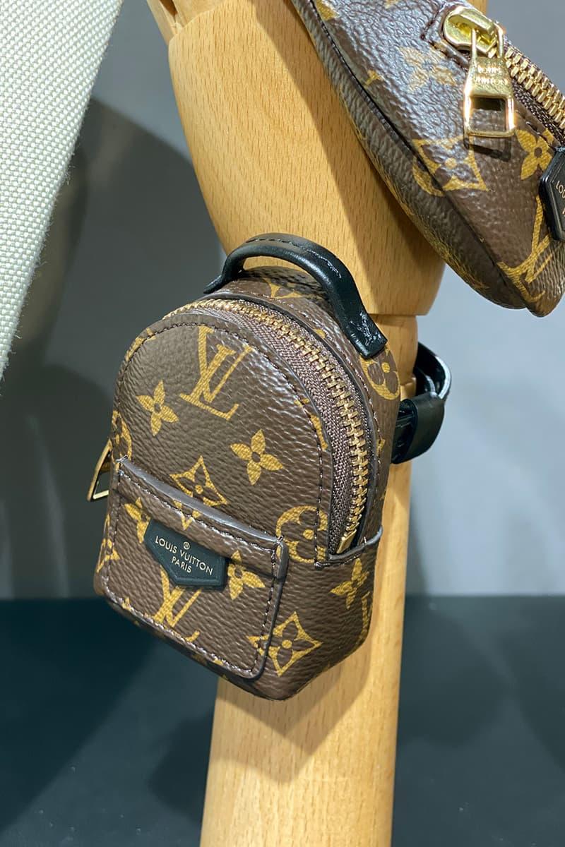 Louis Vuitton Bracelet Bumbag Mini Bag Spring/Summer 2020 SS20 Preview Release First Look Monogram Gold Hardware Black Leather Detailing
