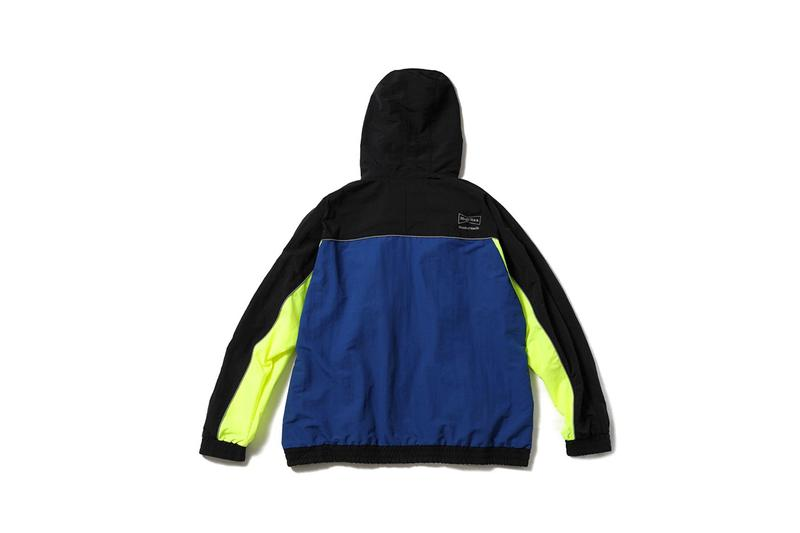 MAGIC STICK x Wasted Youth Capsule Collection Outerwear Zip Up Jacket Windbreaker Track Pants Neon Yellow Blue Black 3M Detailing Release Information First Look Harajuku Day Festival