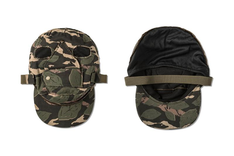 Maharishi Woodland Templar Cap/Mask Release HBX masks Army Cold weather surplus GI US extreme cold military mask camouflage Hardy Blechman