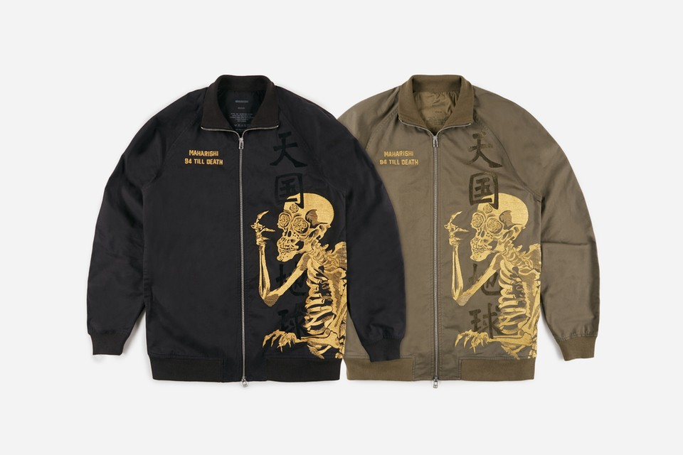 """maharishi Celebrates Halloween With """"Skeletal Truth"""" Capsule Collection"""