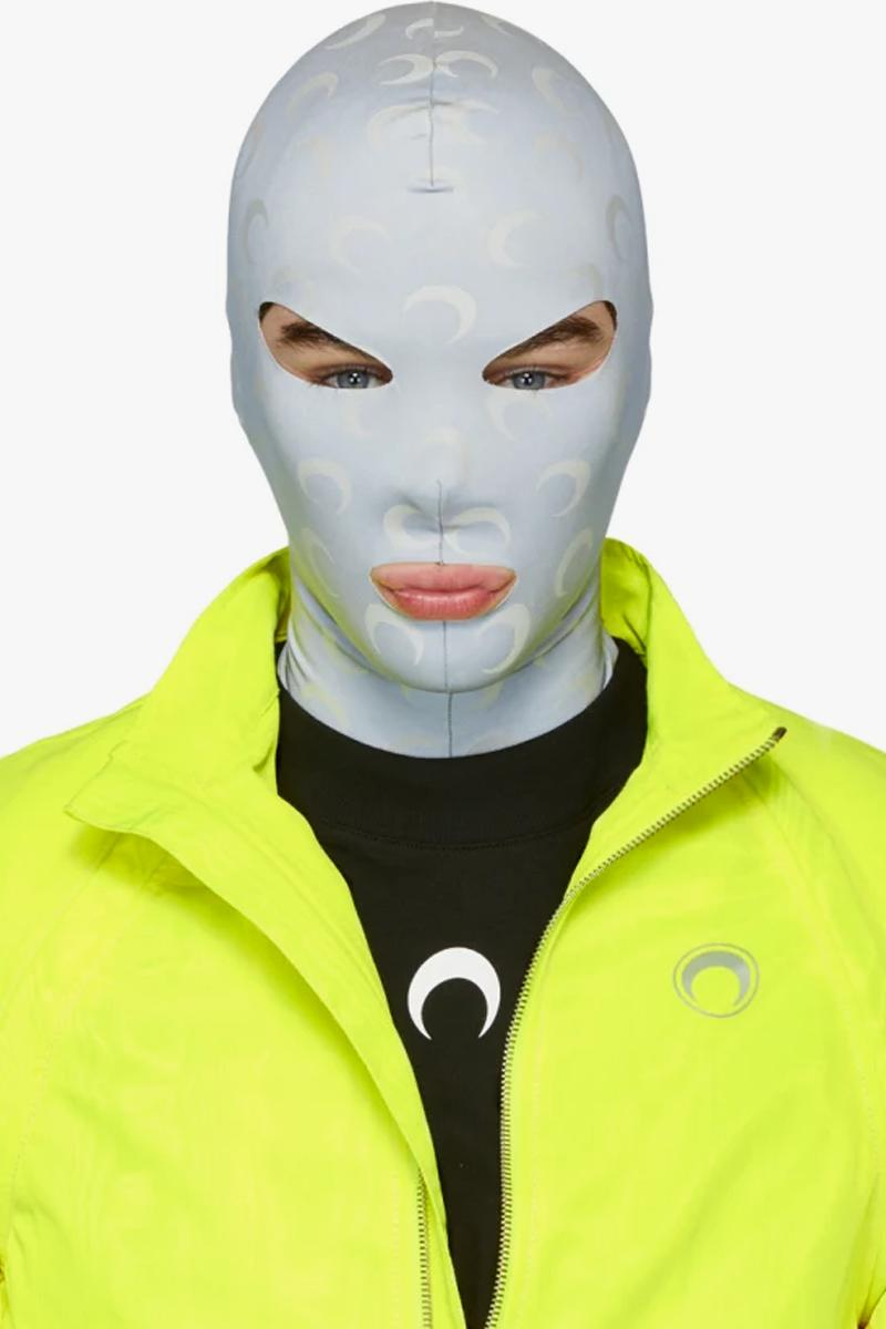 Marine Serre Reflective All Over Moon Face Mask Release Info Date