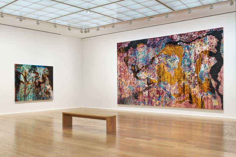mark bradford cerberus hauser and wirth london paintings