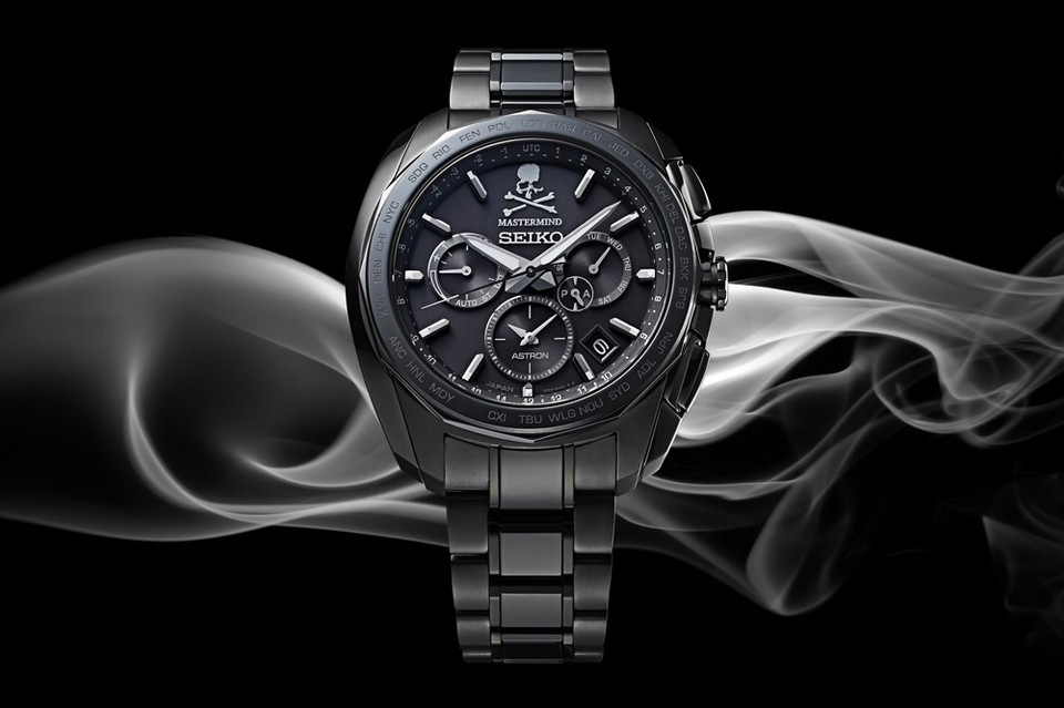 mastermind JAPAN Joins Seiko for Blacked-Out Astron Watch