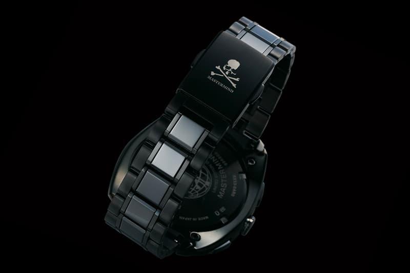 mastermind JAPAN x Seiko Astron Watch Info GBP MMJ japan streetwear black GMT Seiko watches skull tokyo Grand Seiko Sports wristwatch tech Solar